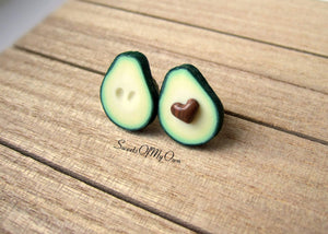 Avocado BFF Pins - Set of 2 - SweetsOfMyOwn