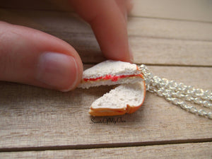 Peanut Butter and Jelly Sandwich BFF Set - Charms/Necklaces/Keychains - MTO
