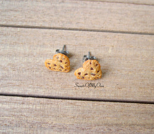 Heart Cookie - Stud Earrings