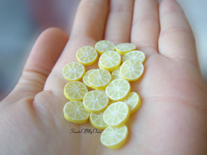 Lemon Slice Stud Earrings - SweetsOfMyOwn
