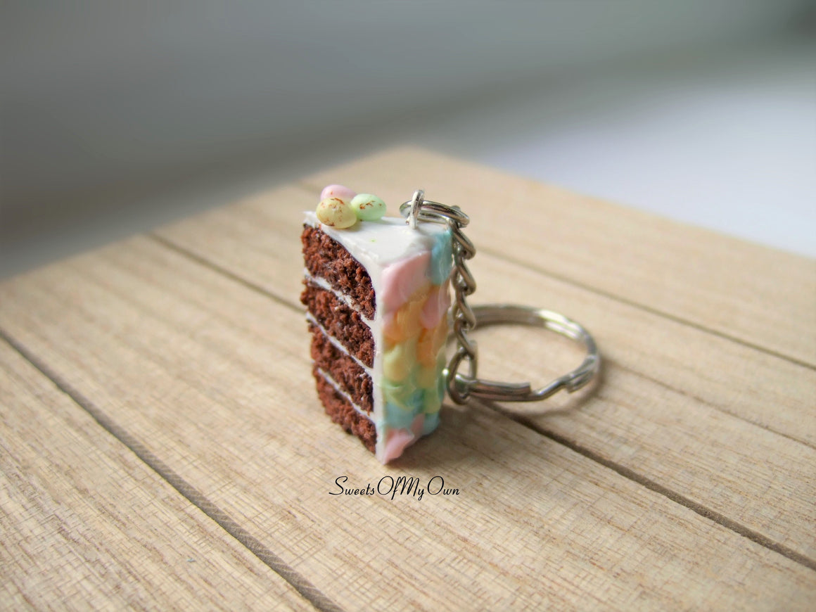 Easter Cake - Keychain