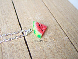 Watermelon Slice Charm - SweetsOfMyOwn