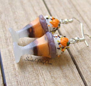 Halloween Sundae - Dangle Earrings - MTO