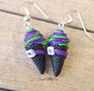 Witches Ice Cream - Dangle Earrings - MTO