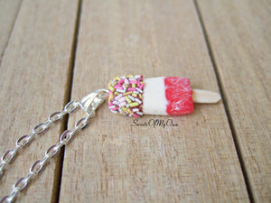 Ice Lolly - Charm/Necklace - MTO