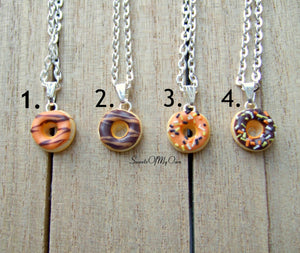 Halloween Doughnut - Necklace