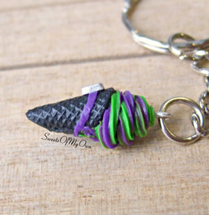 Witches Ice Cream Cone Charm - SweetsOfMyOwn