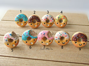 Kawaii Donut Ring - Choose Your Style - SweetsOfMyOwn