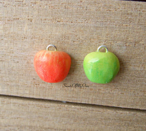 Apple Half Charm (small) - SweetsOfMyOwn