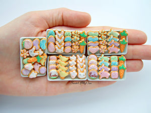 Easter Biscuits Set Miniature - Doll House 1:12 Scale
