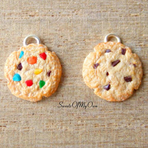 Cookie Charm (small) Chocolate/Rainbow - SweetsOfMyOwn