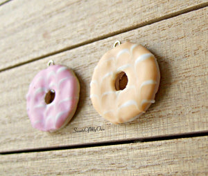 Party Ring Biscuit Charm - Charm/Necklace/Keychain - MTO