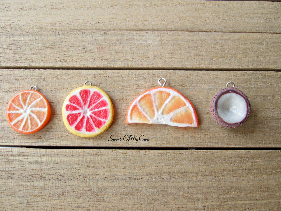 Fruit Charm - Choose Your Fruit - SweetsOfMyOwn