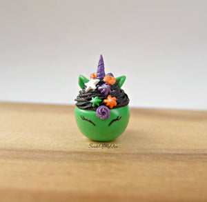 Green Witch Unicorn Hot Chocolate Drink Charm - SweetsOfMyOwn