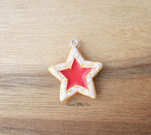 Star Jam Biscuit Charm - SweetsOfMyOwn