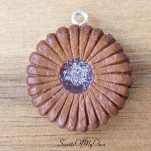 Chocolate Sugar Biscuit Charm - SweetsOfMyOwn