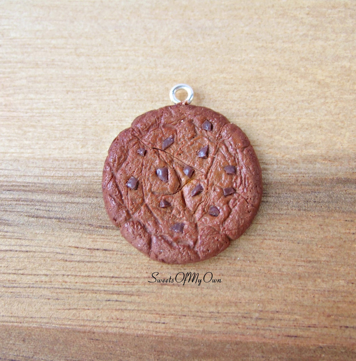 Double Chocolate Chip Cookie Charm - SweetsOfMyOwn