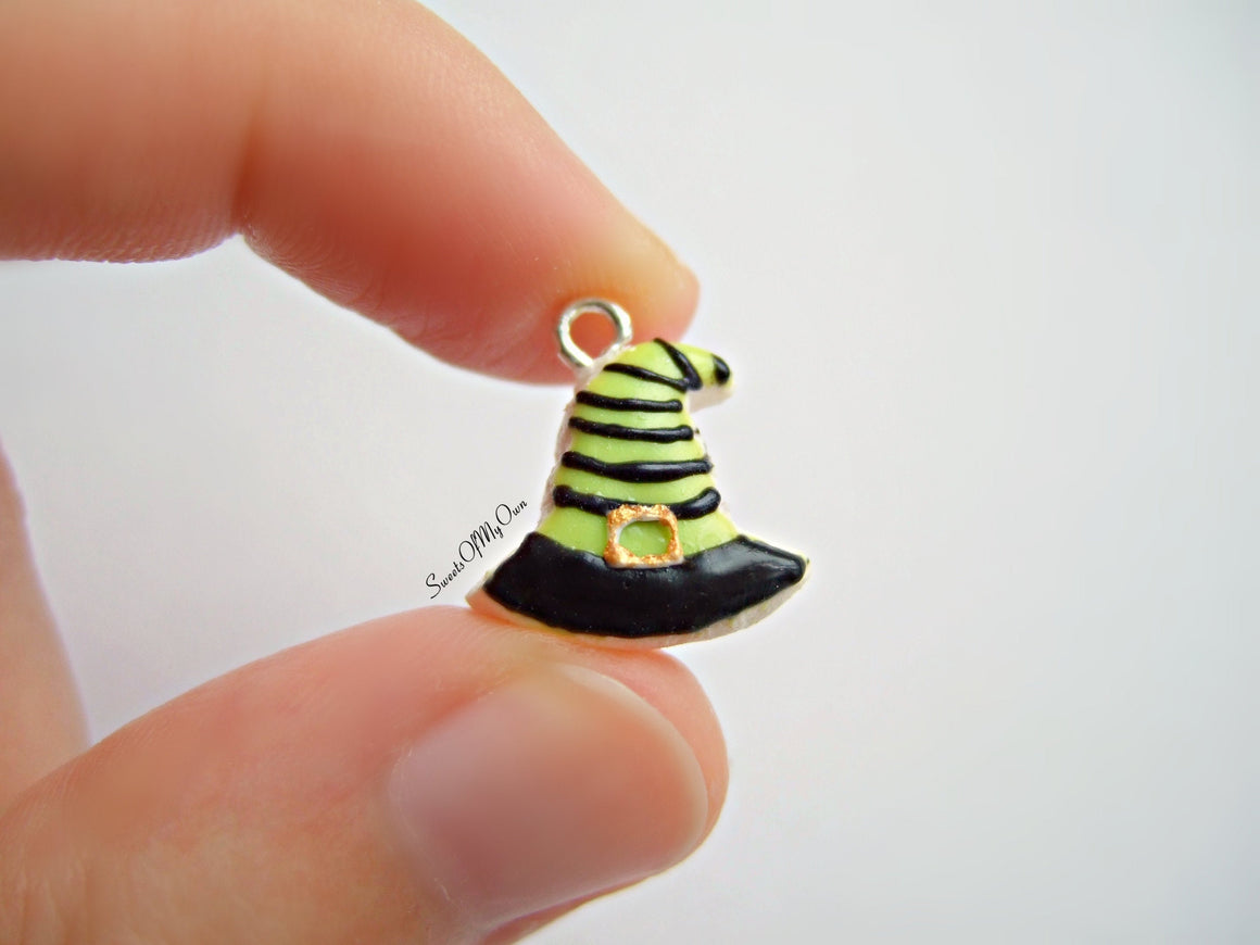 Witches Hat Biscuit - Necklace/Charm - MTO