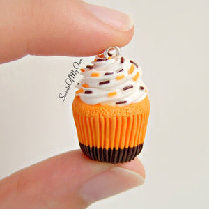 Halloween Brownie Bottom Cupcake - Charm