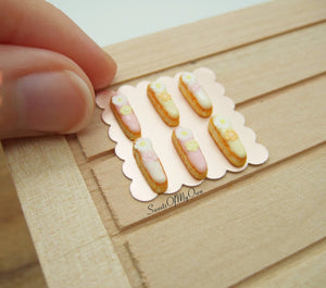 Miniature Eclairs Spring Flower Theme - Doll House 1:12 Scale