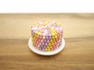 Whole Mini Egg Cake - 245 Mini Eggs - Doll House 1:12 Scale