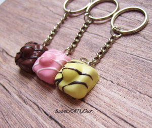 French Fancies Cake - Necklace/Charm/Keychain - MTO