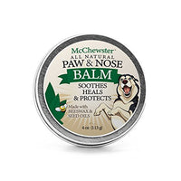 All Natural Paw & Nose Balm - Paw Cream for Dogs and Cats - 4 oz