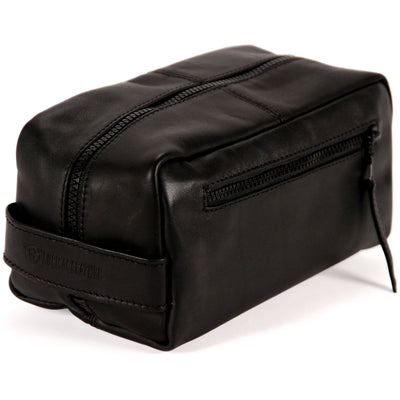 Leather Toiletry Bag