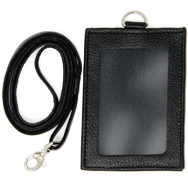 ID Lanyard with Detachable Vertical Badge Holder