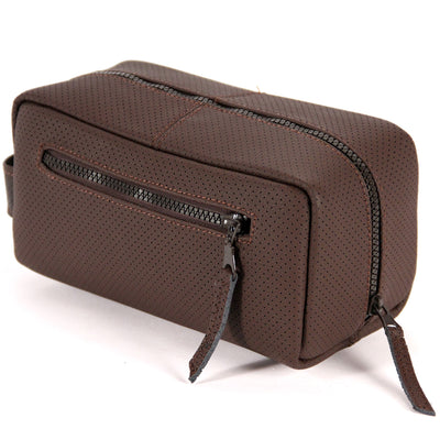 Upholstery Leather Toiletry Bag