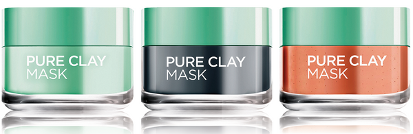 L'oreal Paris Clay Masks