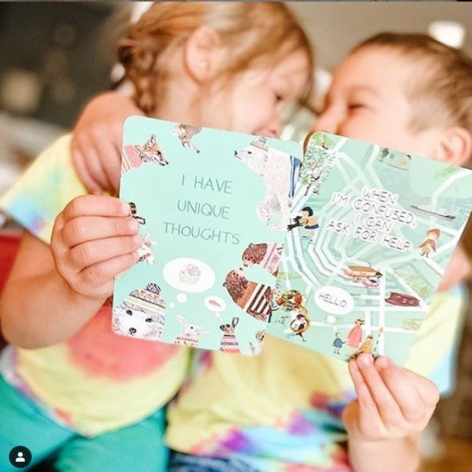 Glow Kiddo Glow Affirmation Cards for Kids