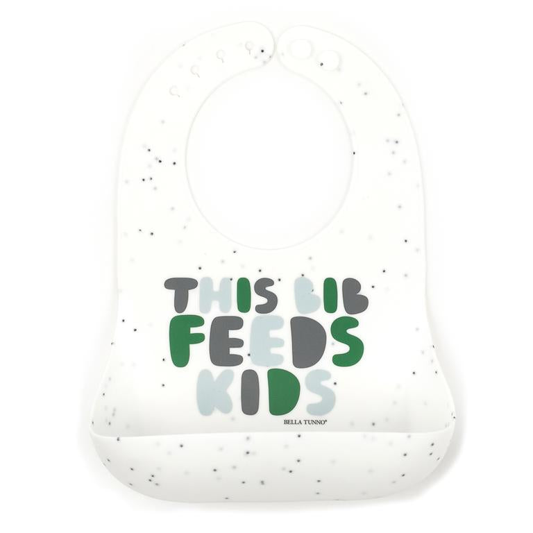 THIS BIB FEEDS KIDS GREEN WONDER BIB