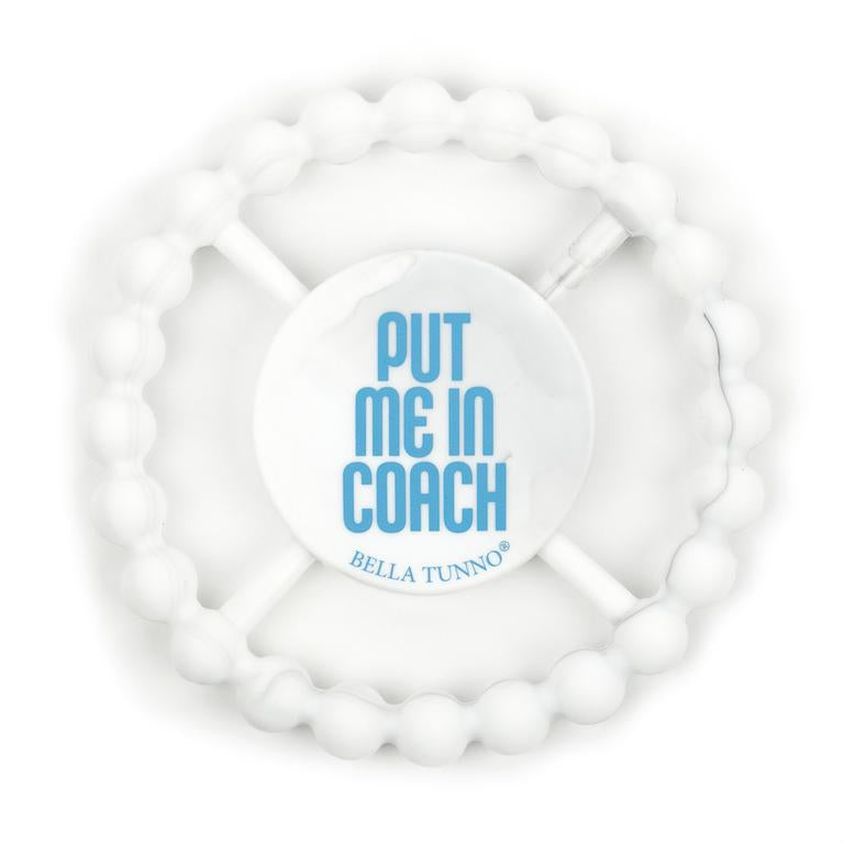COACH MARBLE TEETHER, Teether, [Ziya Blue]