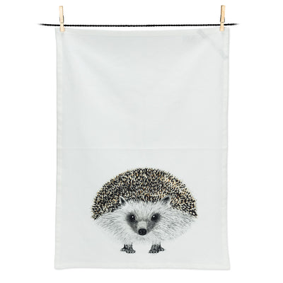 Henry Hedgehog Tea Towel, Tea Towels, [Ziya Blue]