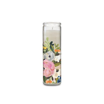 Scented Cathedral Candle - Bella Flora
