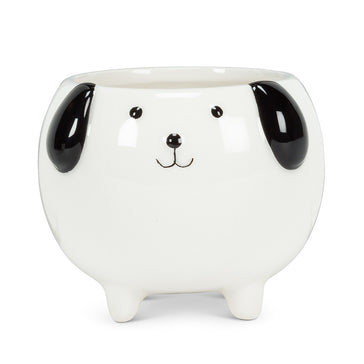 "Sm Dog on Legs Planter - 3""H"