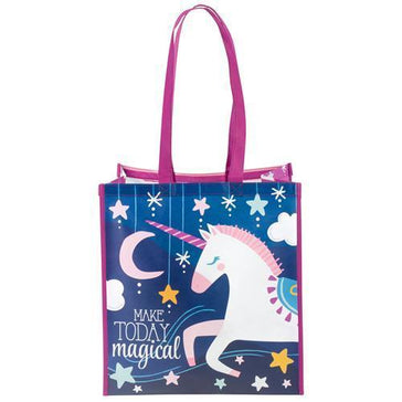 Large Recycled Gift Bag - Unicorn
