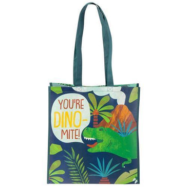 Large Recycled Gift Bag- DINO