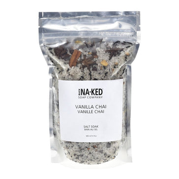 Vanilla Chai Salt Soak - 472ml