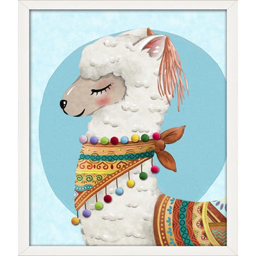 Canvas LLAMA 40x40 ****PICK UP ONLY*****
