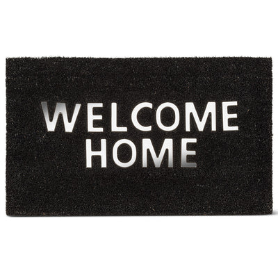 "Urban Welcome Home Mat - BLK 18x30""L  ******PICK UP ONLY*******"
