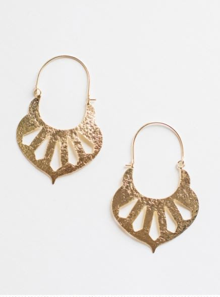 Sparta Earrings Gold
