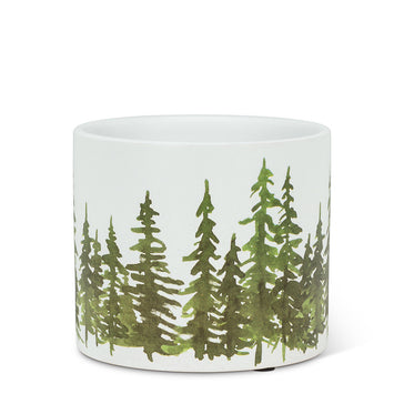 "Small Evergreen Planter - 4.5""D"
