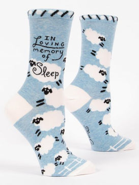 Loving Memory Of Sleep Crew Socks
