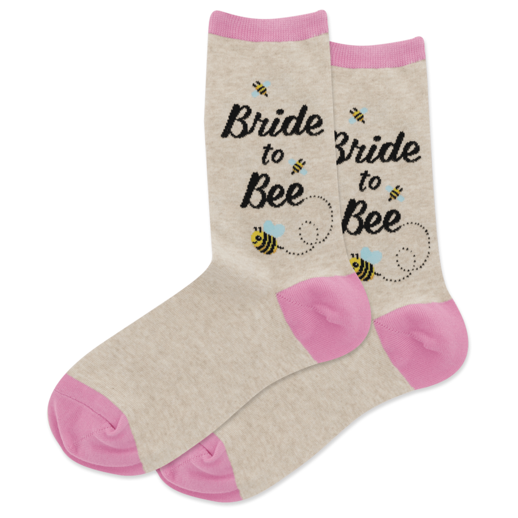 Bride to Bee Socks