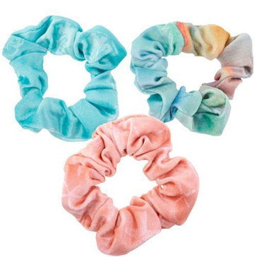 Velvet Scrunchie Set - COASTAL