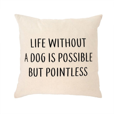 Without A Dog Cushion 20x20
