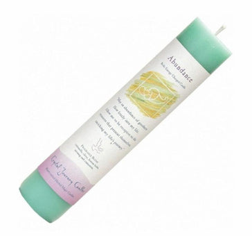 "Herbal Pillar Candle 7""H - Abundance"