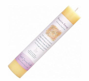 "Herbal Pillar Candle 7""H - Positive Energy"
